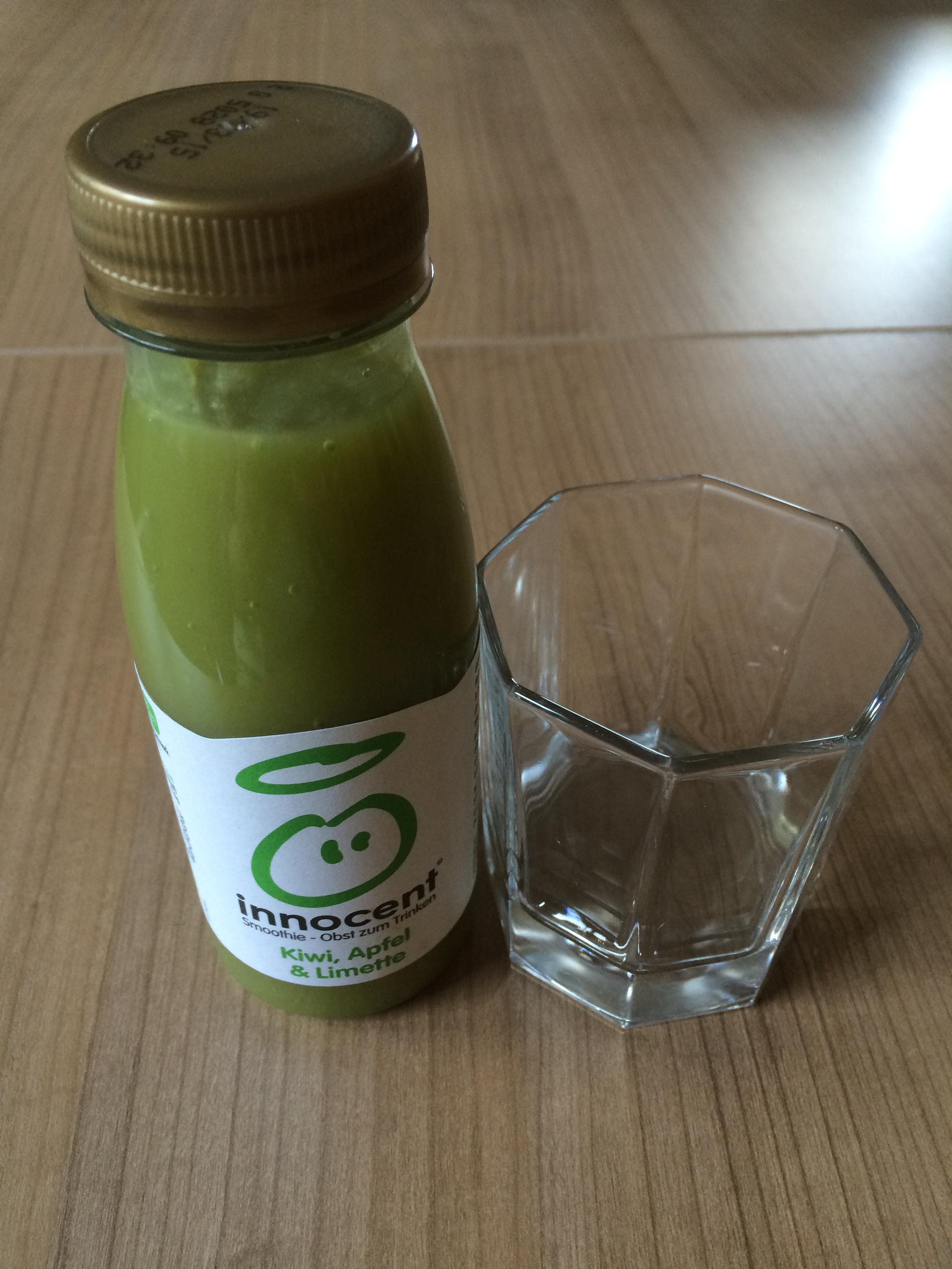 Innocent - Kiwi, Apfel und Limette Flasche Probenqueen