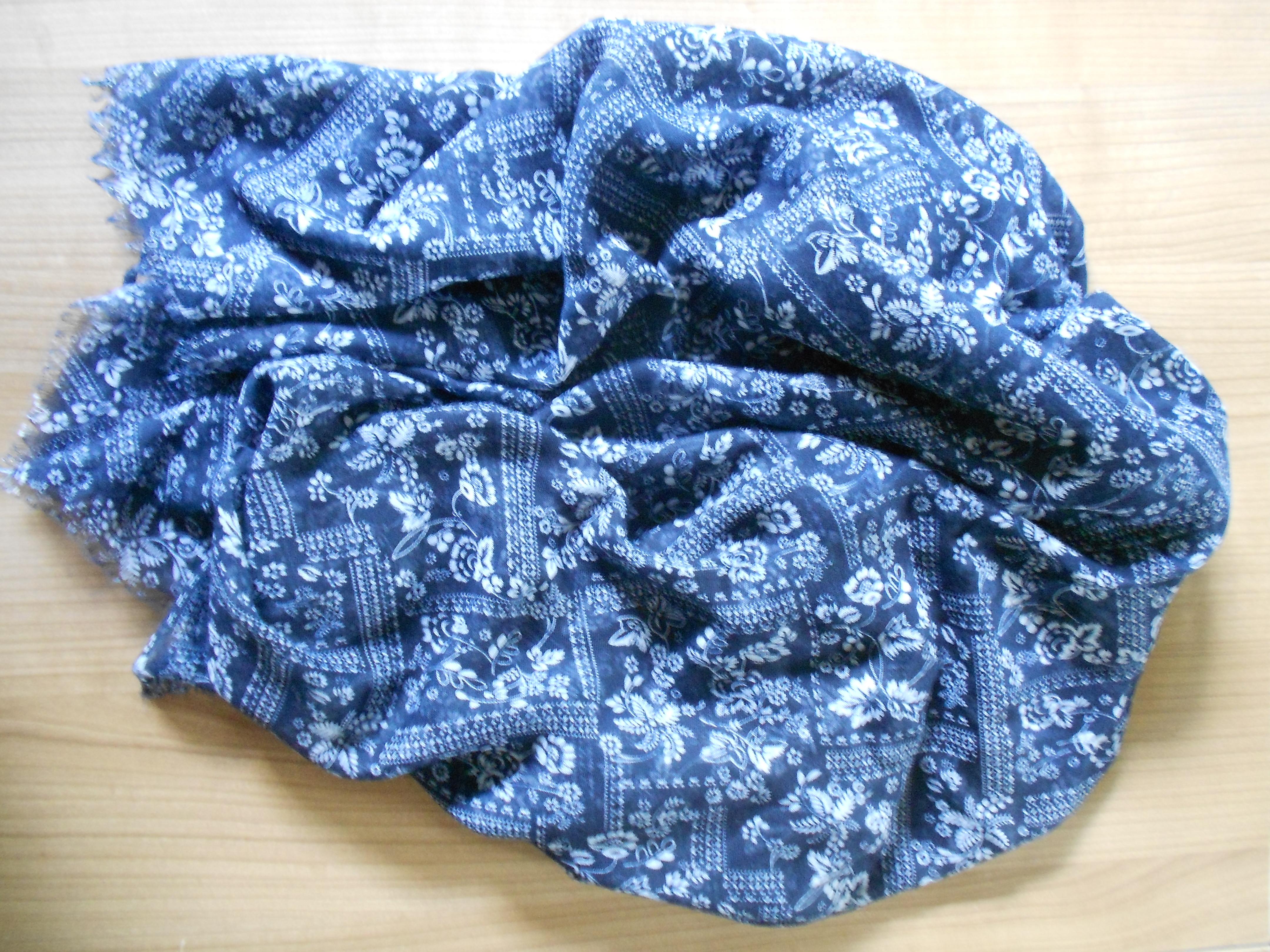 Halstuch blau-weiß von C&A allgemeine Ansicht Halstuch Probenqueen