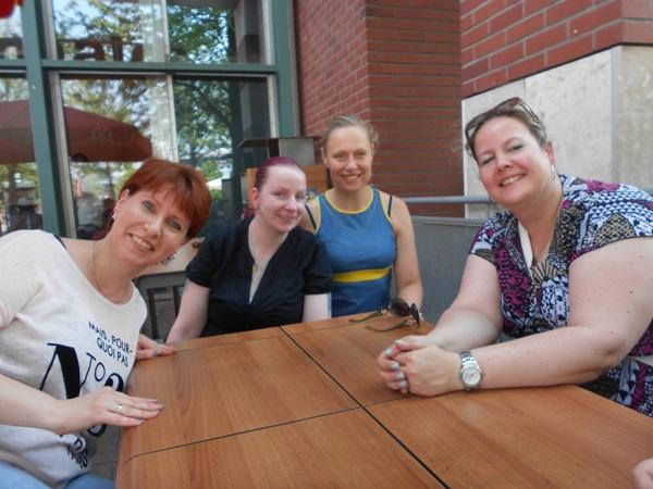 Summer-Challenge Bloggertreffen 2015 Mädels Probenqueen