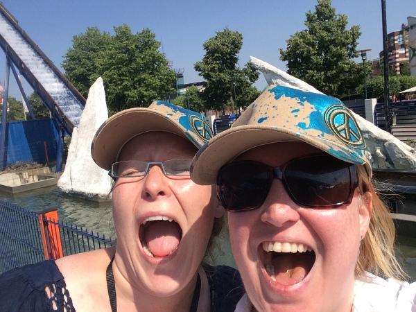 Summer-Challenge Bloggertreffen 2015 Anna und Natascha Probenqueen