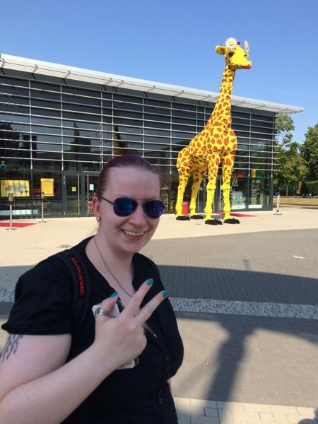 Summer-Challenge Bloggertreffen 2015 Giraffe Oberhausen Probenqueen