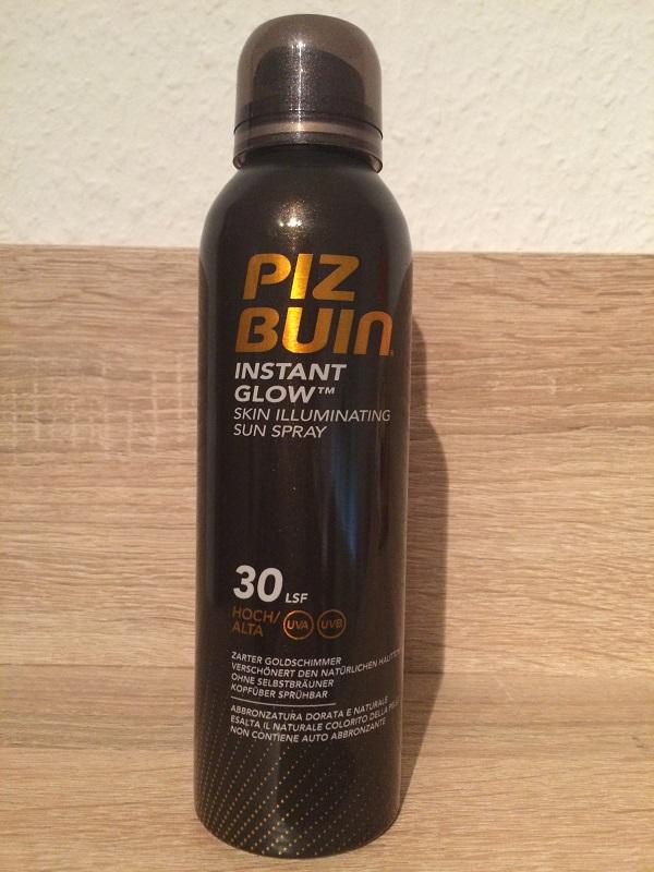 IMG_2742Summer-Challenge Bloggertreffen 2015 Biz Buin Instant Glow Spray Probenqueen