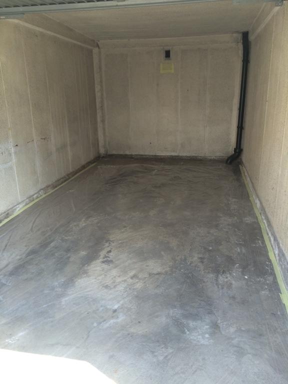 Wagner Sprühsystem WallPerfect FLEXIO 585 Garage vorher - Probenqueen