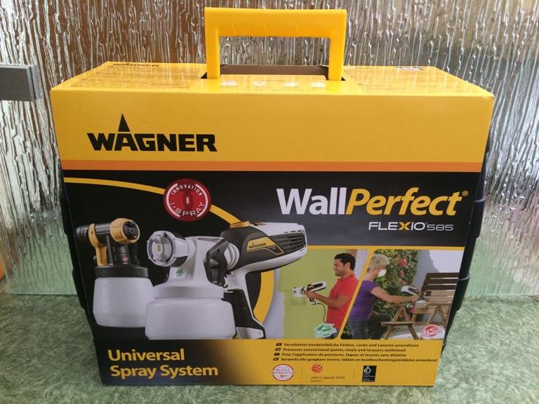 Wagner Sprühsystem WallPerfect FLEXIO 585 Karton Probenqueen