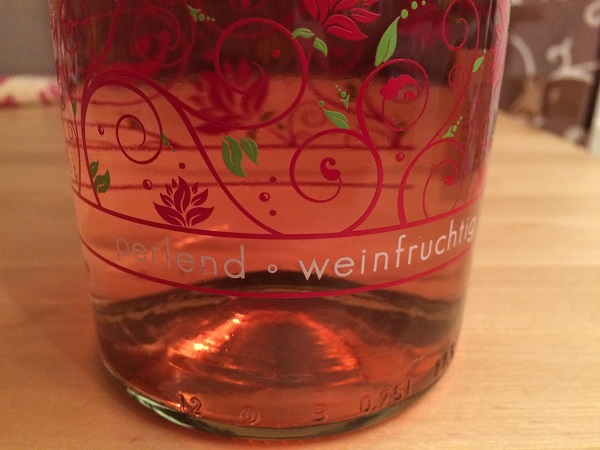 Jive - fruchtige Pearl Edition Flaschenverzierung