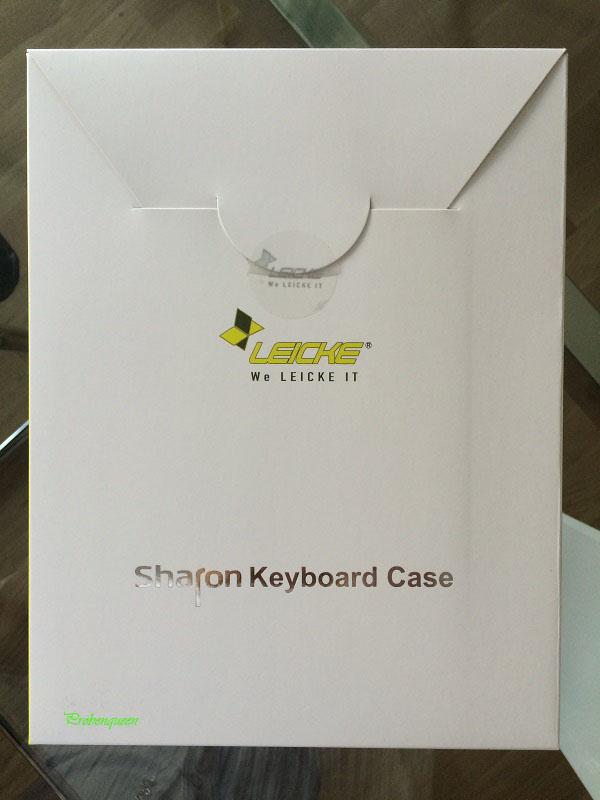 Sharon Tablet Hülle für Samsung mit Tastatur Leicke Verpackung Probenqueen