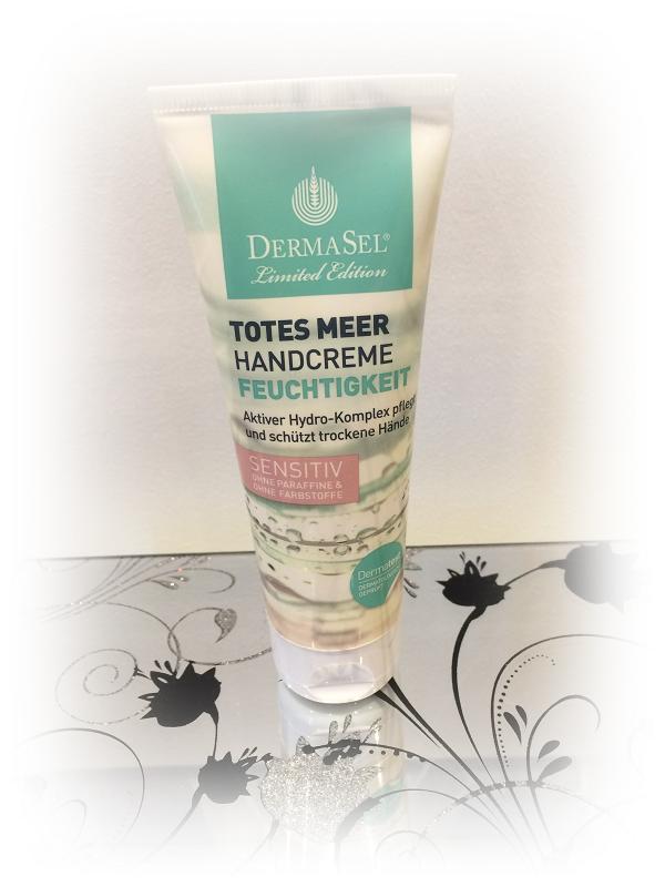 DermaSel Totes Meer Handcreme Feuchtigkeit sensitiv Handcreme Probenqueen