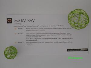 Mary Kay TimeWise Anwendungshinweis Probenqueen