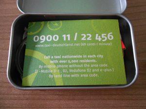 Taxi-Deutschland-Probenqueen