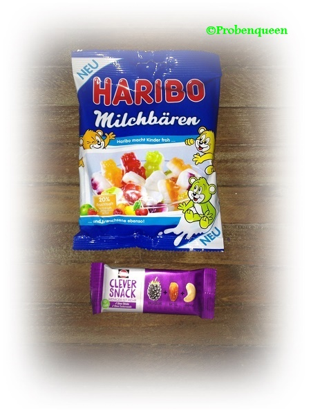 Brandnooz Haribo & Schwartau Probenqueen