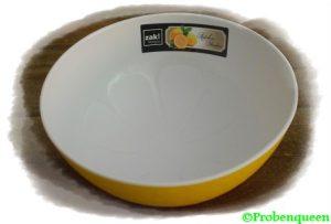 Zak-gelbes-Schüsselchen