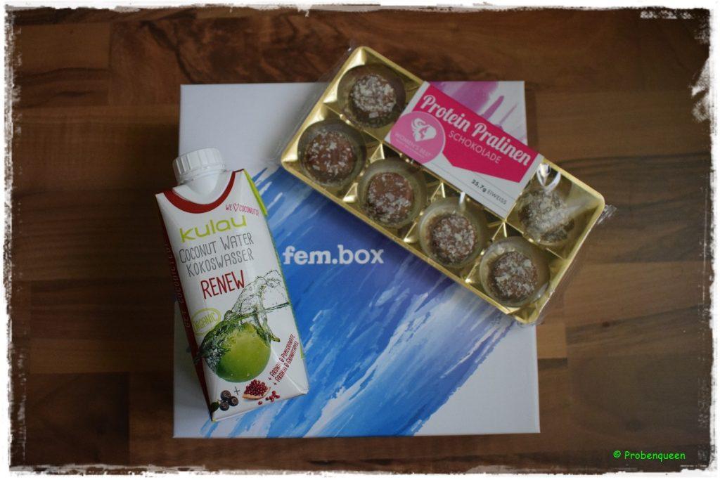 fembox-oktober-kokoswasser-und-pralinen-probenqueen
