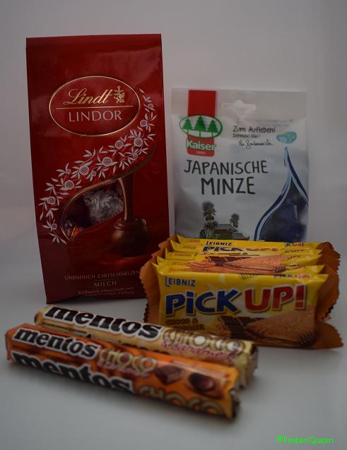 Brandnooz Box Dezember 2016 Süßigkeiten