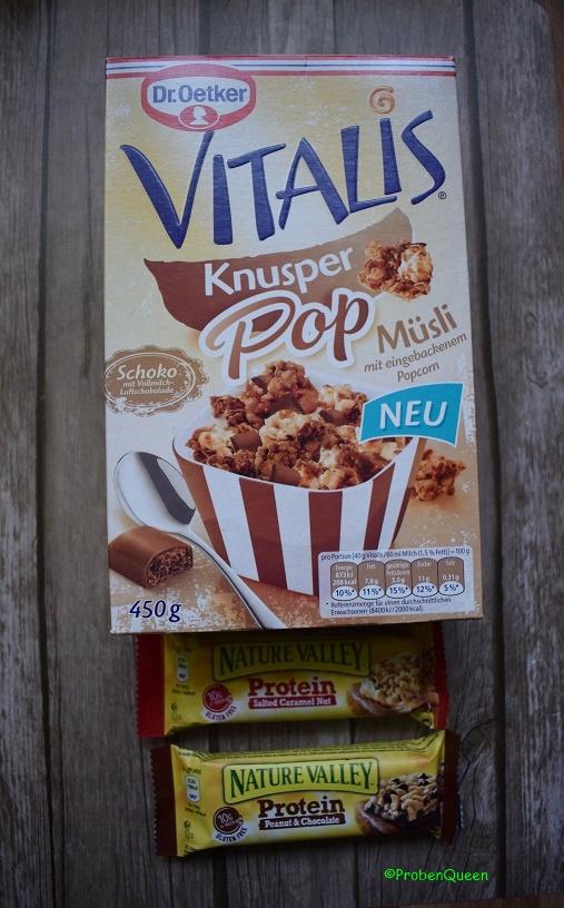 Brandnoozbox Januar 2017 Vitalis Knusper Pop Müsli - Probenqueen