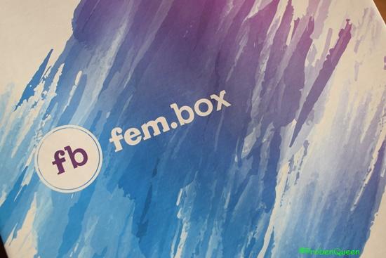 Fembox - Ausgabe Januar 2017 Logo - Probenqueen