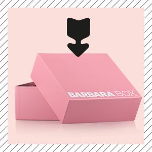 Bild Barbara Box erste Ausgabe Rosa Probenqueen