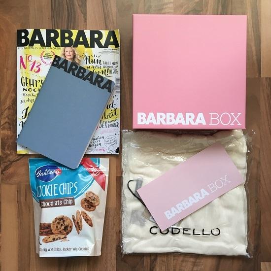 Barbara Box Ausgabe 1 Ankündigung über Instagram Probenqueen