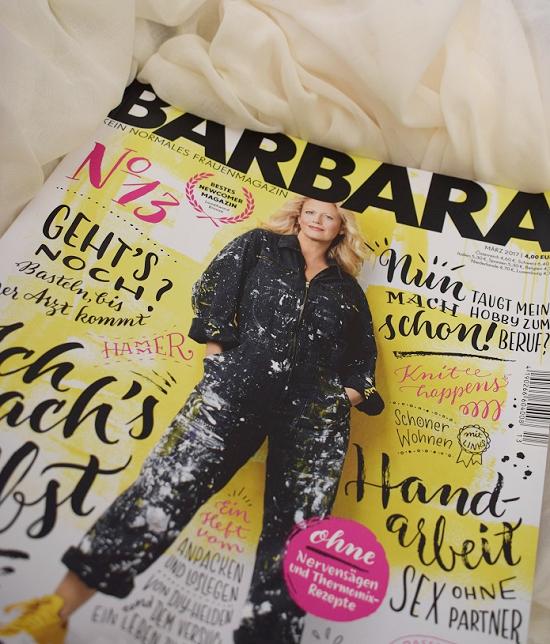 Barbara Zeitschrift Nr. 13 aus Barbara Box Nr. 1 Probenqueen