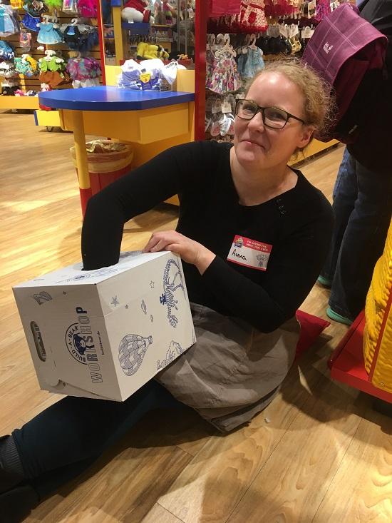 Build-a-Bear Anna und die Wühlkiste Probenqueen
