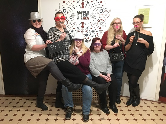 Gruppenbild Klönunkieken2017 Hamburg Team Probenqueen