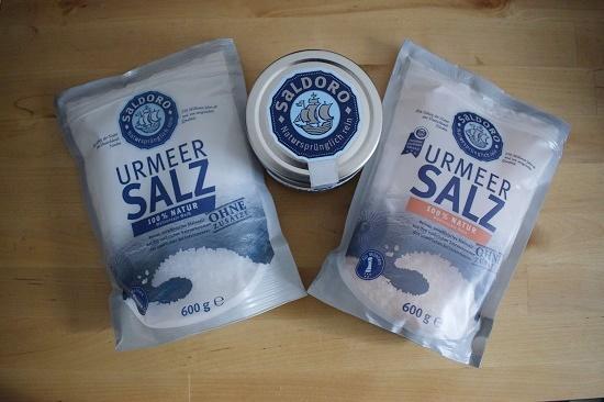 Saldoro Urmeersalz Produktpaket Probenqueen