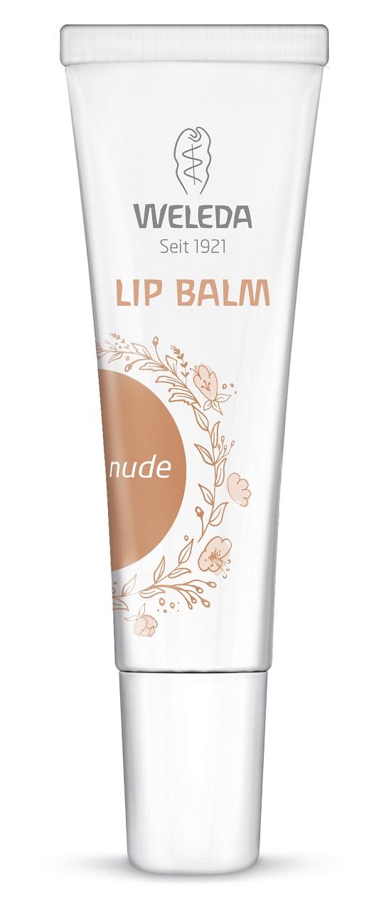Weleda Lip Balms Farbe nude Probenqueen