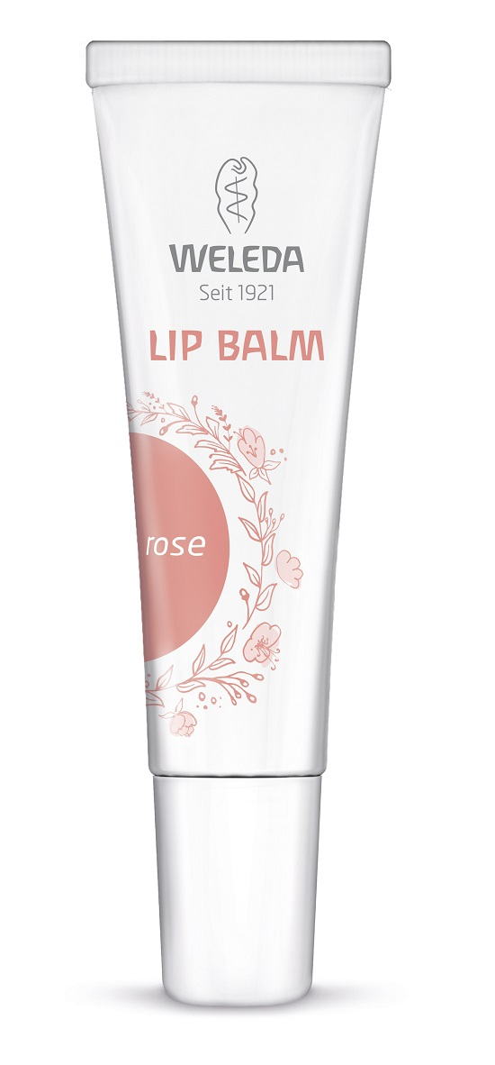 Weleda Lip Balms Farbe rose Probenqueen
