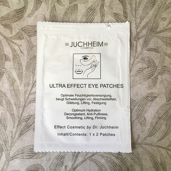 Juchheim Cosmetics Augenpatches Probe Goodiebag Probenqueen