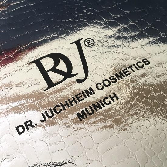 Pure Natural Organic Bath and Shower Gel von Juchheim Cosmetics Schriftzug Probenqueen
