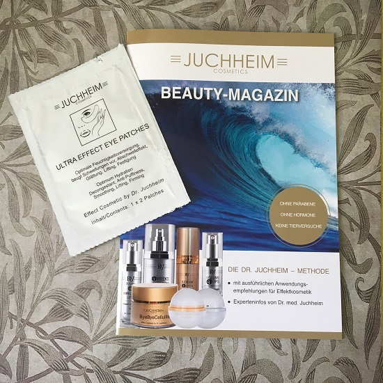 Juchheim Beauty Magazin plus Augenpatches Probenqueen