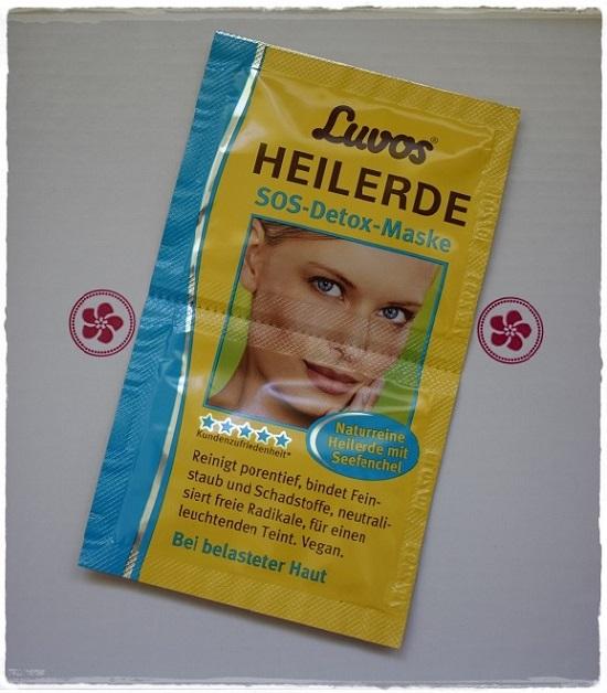 Pink Box Reiseziel Beauty Luvos SOS Detox Maske Probenqueen