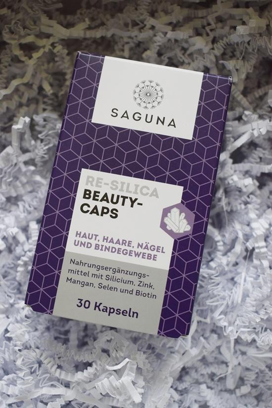Sanicare Box Sommerzeit Saguna Beauty Kapseln Packung Probenqueen