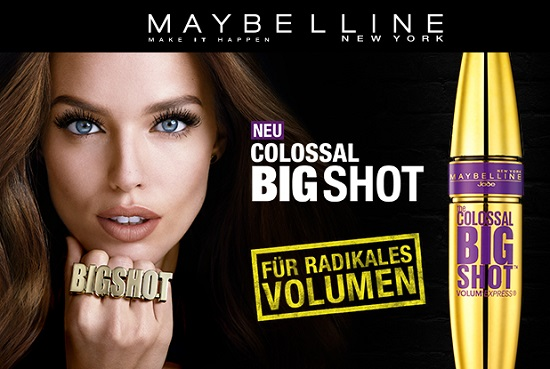 The Colossal Big Shot Mascara Titelphoto Probenqueen